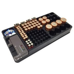 Battery Storage Organizer
