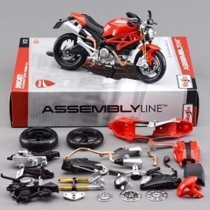 Ducati Monster 696 DIY Die Cast Set – Assembly Line