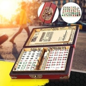 Rare traditional 144pcs Mahjong Set