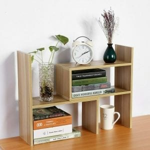 Compositional Desk Shelf Unit